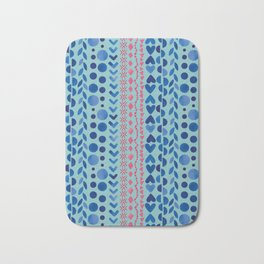 Watercolour Shapes - Magic Villa Bath Mat