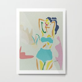 Bikini Body N7 Metal Print