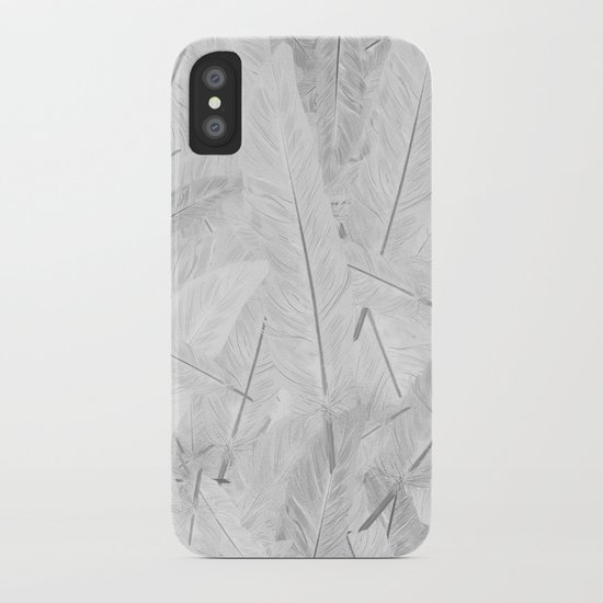 Feathered (Pattern). iPhone Case