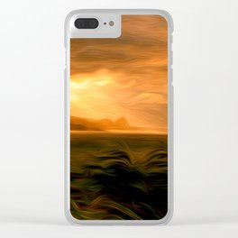 Clearing Squall Clear iPhone Case