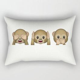 Funny Monkeys Rectangular Pillow
