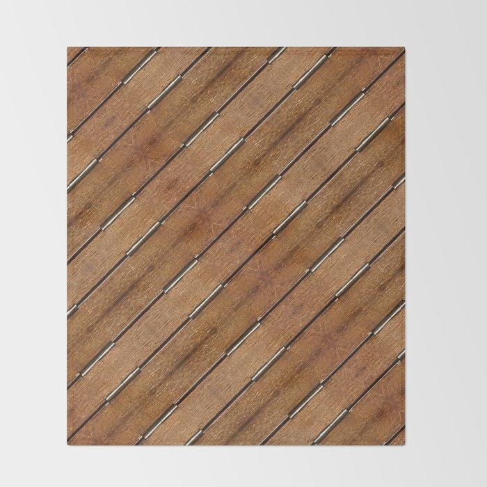 Furniture Mockup Pattern Throw Blanket