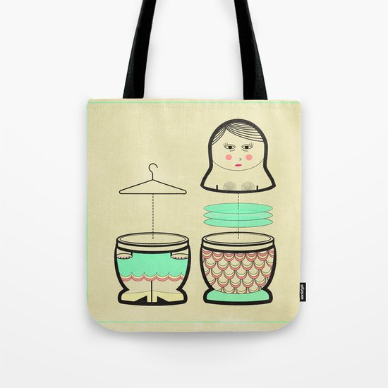 The mermaid who was tired of her tail ... Tote Bag
