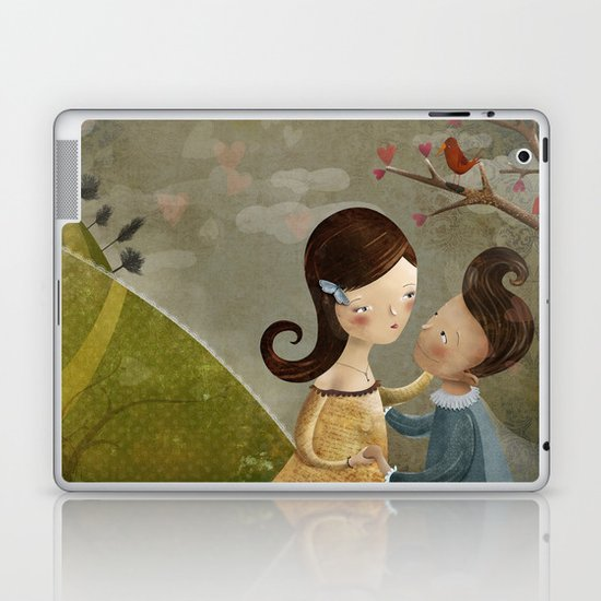 You arms are my castle Laptop & iPad Skin