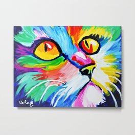 Cole's Cat Metal Print
