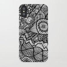 Doodle 5 iPhone X Slim Case