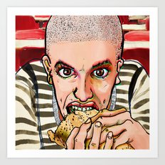 Hungry Art Print