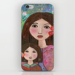 Mom and Daughter  iPhone Skin