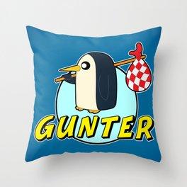 Pingu Time Throw Pillow