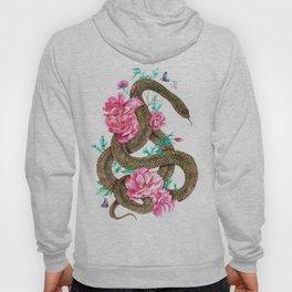 Floral Snake Hoody