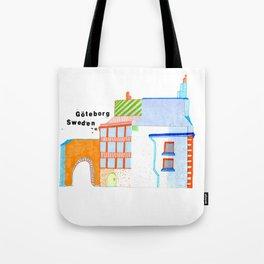 Göteborg Little Building Tote Bag