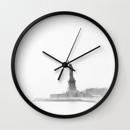 Statue of Liberty xc Wall Clock