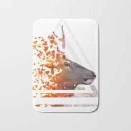 Caution Deer by GEN Z Bath Mat