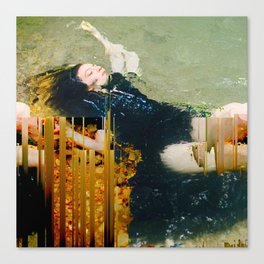 Witch in the Water Canvas Print