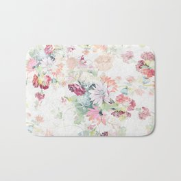 spring bouquet Bath Mat