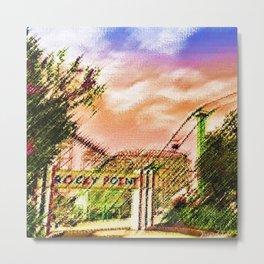 Rocky Point Amusement Park - Warwick RI Portrait - Jéanpaul Ferro Metal Print