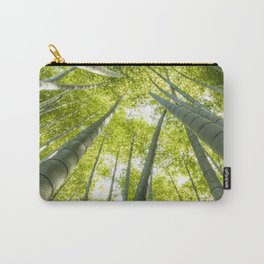 Bamboo forest in Japan Carry-All Pouch