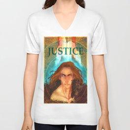 Torn Justice Unisex V-Neck