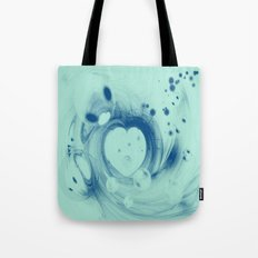 Heart glow Tote Bag