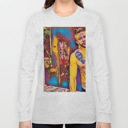 Cartoon Boy Long Sleeve T-shirt