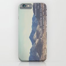 wanderlust ... iPhone 6s Slim Case