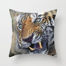 The Old King Throw Pillow