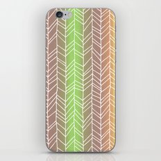 Colorful Rainbow Feather Pattern iPhone & iPod Skin