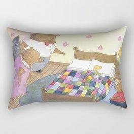 Goldilocks Caught Sleeping Rectangular Pillow