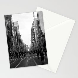 Ginza Street Tokyo Stationery Cards