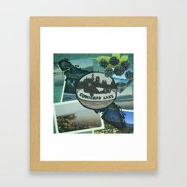 Cowichan Lake Framed Art Print