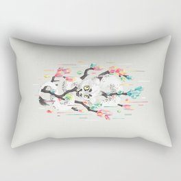 Dragon and His Treasure Rectangular Pillow