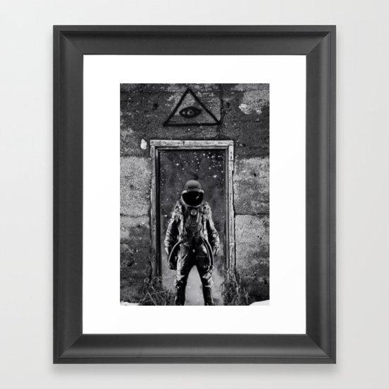 The man from earth Framed Art Print