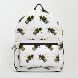 Bumblebee, bee art flying bee design honey bee wildlife Backpack