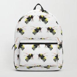 Bumblebee, bee art flying bee design honey bee wildlife Backpack