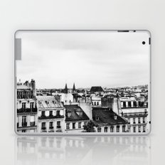 Upon the rooftops (B&W) Laptop & iPad Skin