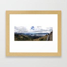 Nahuel Huapi, Bariloche, Argentina Framed Art Print