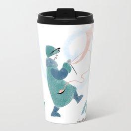 Winter Knitter Travel Mug