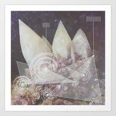 Harmonic Broadcast  Art Print