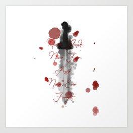 Nevernight (Never Fear) Art Print