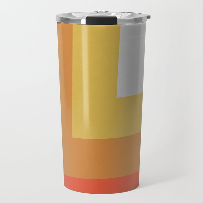Retro Night Lights Color Palette Travel Mug