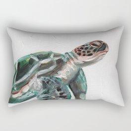Sanddollar the Sea Turtle Rectangular Pillow