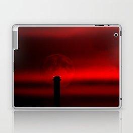 sunset, moon and flight limiting lights Laptop & iPad Skin