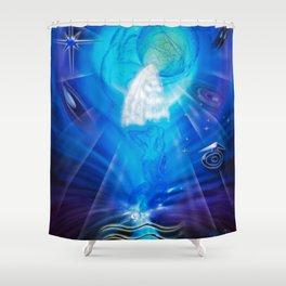 Zodiac sign Aquarius - Happy Birthday 3 Shower Curtain