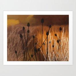 wild fall Art Print