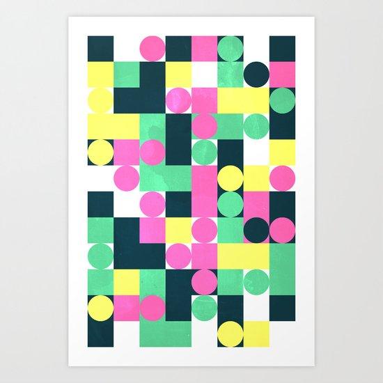 circle square Art Print