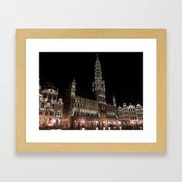 Grote Markt, Belgium Framed Art Print