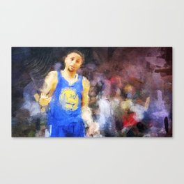 Swaggy Steph Curry Canvas Print