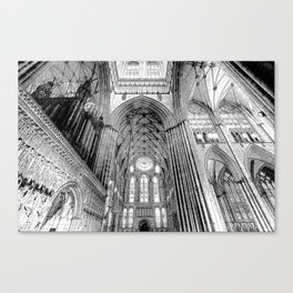 York Minster Art Sketch Canvas Print