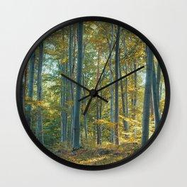 morton combs 04 Wall Clock