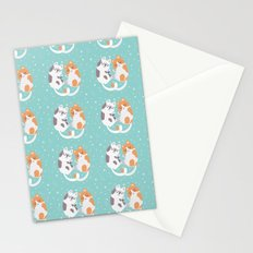 Kitty Cuddles Stationery Cards